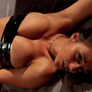 Nikki Sims Leather Babe