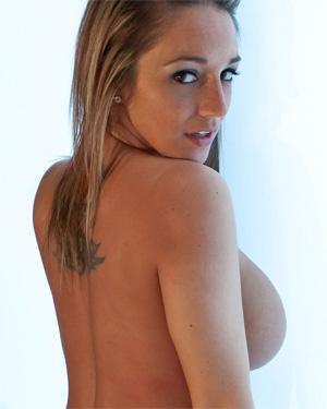 Nikki Sims Blue Mesh Beauty