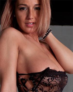 Nikki Sims G String Lingerie