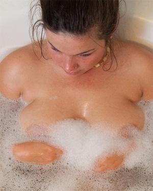 Nikki Yann Soapy Shower Nudes
