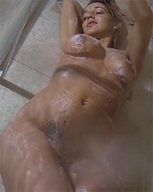 Nikki Sims Naked Shower Video