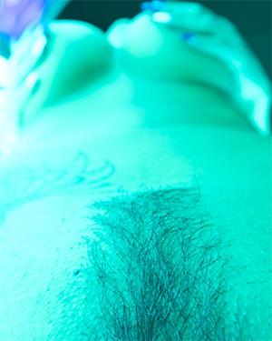Nikki Sims Naked Tanning Video