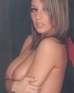 Nikki Sims Sexy Devil Girl
