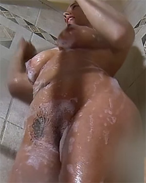 Nikki Sims Nude Shower Multi Cam