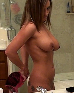 Nikki Sims Nude Changing Video