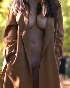 Nude Overcoat Frivolous Dress Order