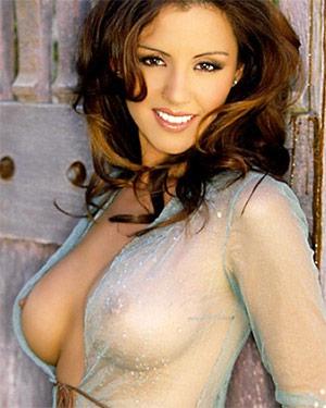 Pennelope Jimenez Busty Latina Playmate