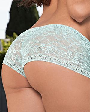 Rebecca Lynn Lace Panties Playmate