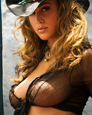 Rebecca DiPietro Busty Brunette Blast From The Past