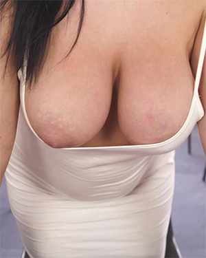 Roxxi Busting Out Downblouse