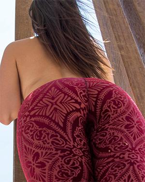 Scarlett Morgan Public Nude Art