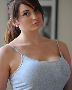 Shannon Smith Busting Out Of Her Tank Top