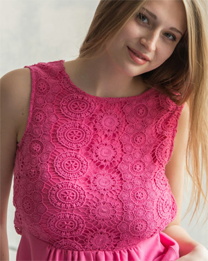 Sheela Pink Dress Beauty