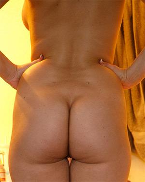Sidney Alexis Naked Doorway Stripper