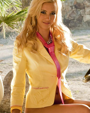 Sophia Knight Golf Cart Babe