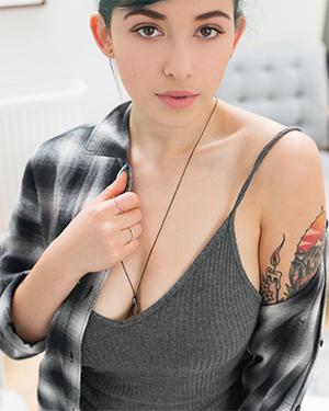 Sophoulla Short Hair and Big Tits Girl