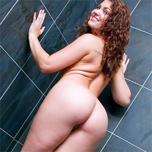 Stephy Getting Wet