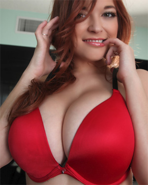 Tessa Fowler Trying On Bra