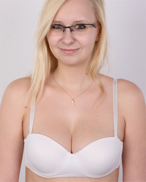 Veronica Is A Cute Naked Nerd