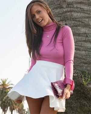 Whitney Westgate Cute Skirt Zishy