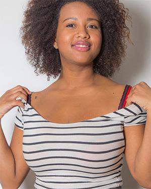 Whitney Williams Busty Ebony Beauty