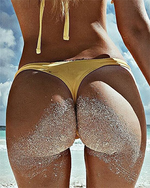Yus Lopez Has A Bubble Butt To Die For